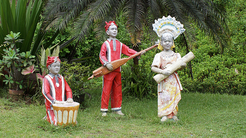 Statues in Eco Village