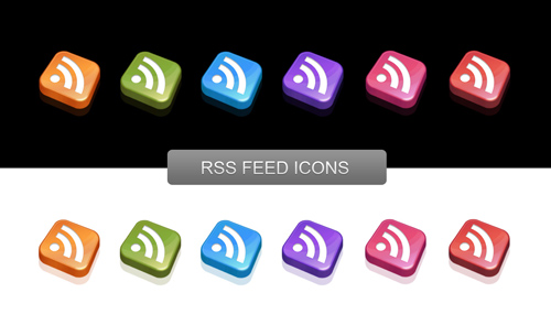 Feed icons from Nyssajbrown