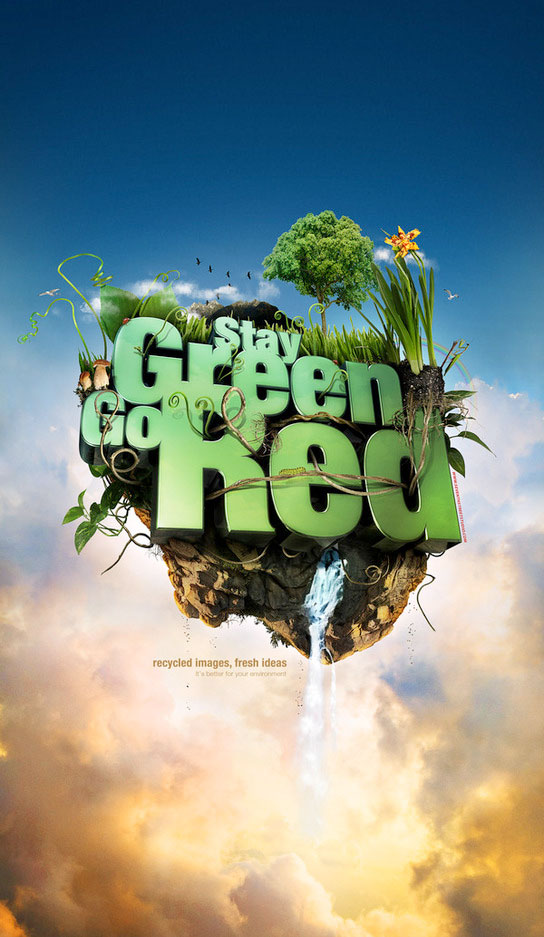 Stay Green - Go Red