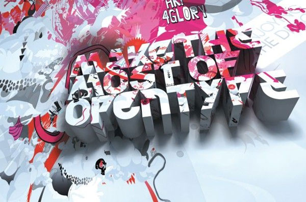 Beautiful 3d Typography 12