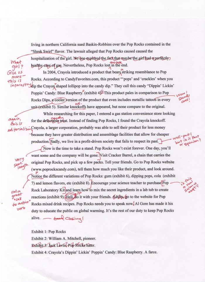 Admissions essay editing blog