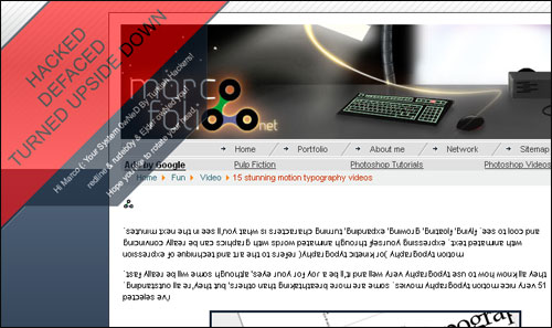 Marcofolio.net April Fools