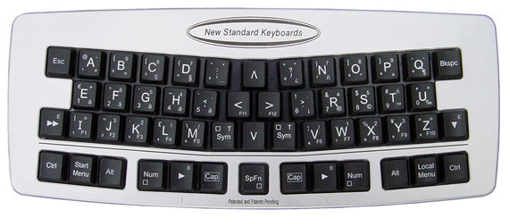 New Standard Keyboards ABC