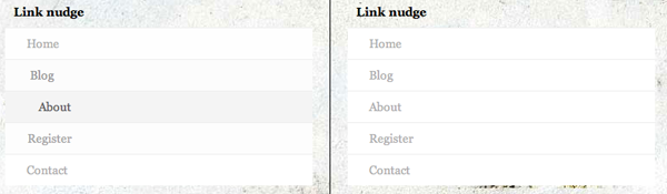 CSS3 and jQuery Animations - Link Nudge