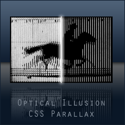 Optical Illusion CSS Parallax