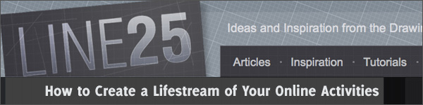 How to Create a Lifestream of Your Online Activities
