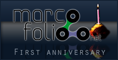 1 year of Marcofolio.net
