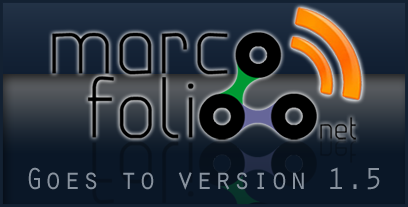 Marcofolio.net goes 1.5