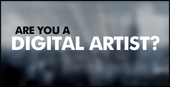 Are you a digital artist?